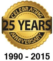 25th Anniversary Graphic
